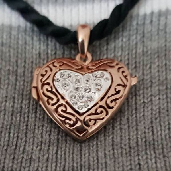 Picture of Pendant Locket Bronze Heart