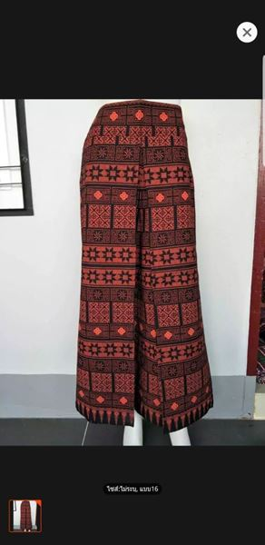 Picture of Thai Printed Cotton Fabric Pants