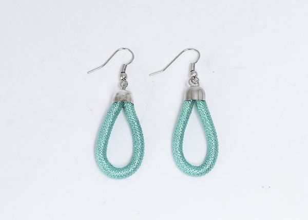Picture of Thread Wrap Earring (Turquoise)