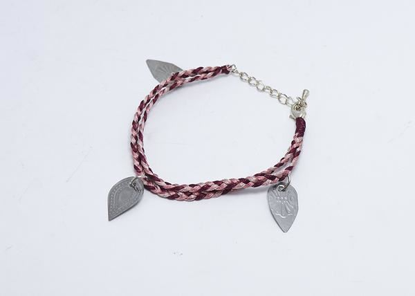 Picture of Tea Spoons to Tea Leaves Bracelet (Blush)