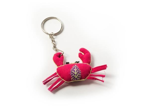 Picture of Crab Keyring