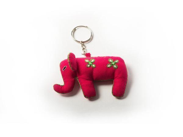 Picture of Elegant Elephant Keyring