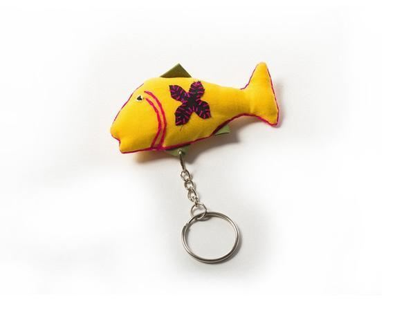 Picture of Fat Fish Keyring