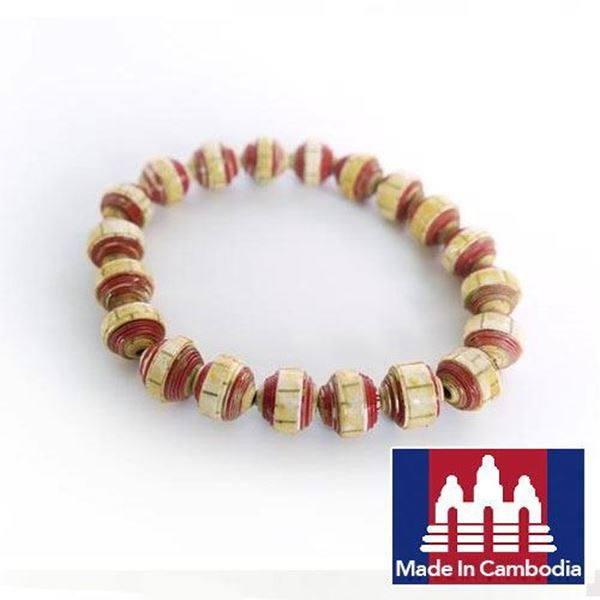 Picture of Paper Pearl Bracelet (Adult)