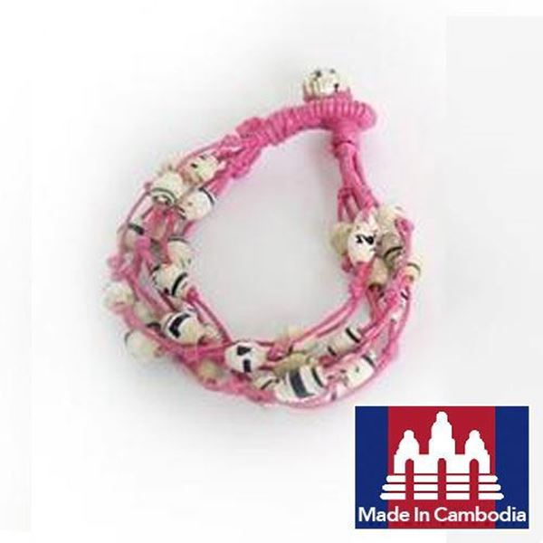 Picture of Cool Line Paper Bracelet (Pink)